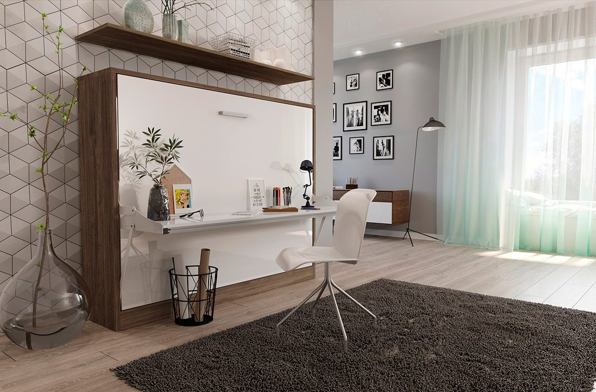 Smart Home Office Furniture Ideas For Small Living Spaces Smart Space Saving